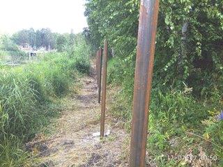 Забор из профнастила Ялта - цены с установкой под ключ от 1125 руб.
